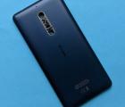 Крышка (корпус) Nokia 5 (2017) TA-1053 синяя B-сток
