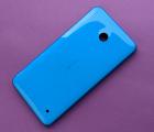 Крышка Nokia Lumia 630 / 635 синяя оригинал С-сток