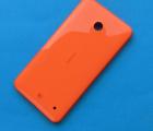 Крышка Nokia Lumia 630 / 635 оранжевая оригинал B-сток
