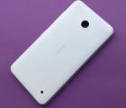Крышка Nokia Lumia 630 / 635 белая оригинал С-сток