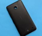 Крышка Nokia Lumia 630 / 635 чёрная А-сток