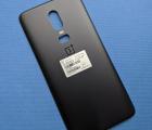 Крышка OnePlus 6 чёрная А-сток матовая