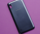 Задняя крышка Samsung Galaxy A10 A105F (2019) чёрная новая