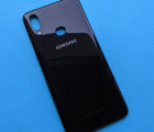 Крышка Samsung Galaxy A10s 2019 чёрная А-сток
