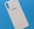 Крышка Samsung Galaxy A50 (sm-a505) белая А-сток