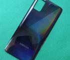 Крышка задняя Samsung Galaxy A51 чёрная (А-сток) prism crush black оригинал