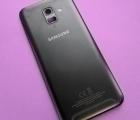 Крышка корпус Samsung Galaxy A6 2018 SM-A600 чёрный (B сток)