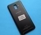 Крышка корпус Samsung Galaxy A6 2018 SM-A600 чёрная (А сток)
