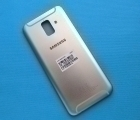 Крышка корпус Samsung Galaxy A6 2018 SM-A600 gold (А сток)