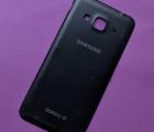 Крышка Samsung Galaxy J3 (2016) j320 чёрная B-сток