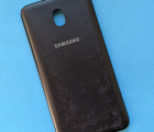 Крышка (корпус) Samsung Galaxy J7 2018 чёрная С-сток