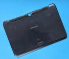 Крышка задняя Samsung Galaxy Note 10.1 N8000 серая (B-сток)