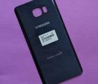 Крышка Samsung Galaxy Note 5 тёмно-синяя А-сток