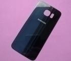 Крышка Samsung Galaxy S6 тёмно-синяя B-сток