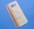 Крышка Samsung Galaxy S6 Edge золото (А сток)
