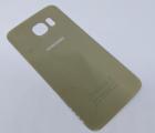 Крышка Samsung Galaxy S6 золото C - сток