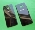 Крышка Samsung Galaxy S7 Edge чёрная (А сток)