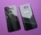 Крышка Samsung Galaxy S7 Edge чёрная B сток