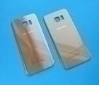 Крышка Samsung Galaxy S7 Edge золото (А сток)