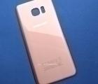 Крышка Samsung Galaxy S7 Edge розовая А сток