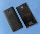 Крышка Sharp AQUOS Crystal 306SH чёрная A-сток
