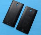 Крышка Sharp AQUOS Crystal 306SH чёрная B-сток