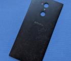Крышка Sony Xperia XA2 Ultra чёрная С-сток