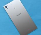 Крышка Sony Xperia Z5 e6633 серебро B-сток с разборки (с антеннай NFC)