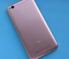 Крышка задняя Xiaomi Redmi 4a розовая С-сток