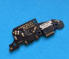 Плата нижняя Huawei Mate 20 порт зарядки / микрофон
