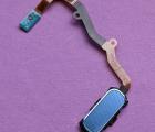 Кнопка home Samsung Galaxy S7 Edge шлейф сканер отпечатка coral blue (A- сток)