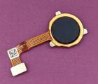 Сканер отпечатка пальца OnePlus Nord N100 шлейф чёрный