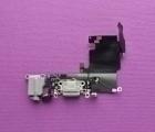Шлейф зарядки Apple iPhone 6s нижний с разборки