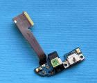 Шлейф нижний HTC One M8 порт зарядки