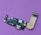 Нижний шлейф HTC U Ultra порт зарядки