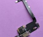 Шлейф нижний Apple iPhone 11 Pro Max порт зарядки оригинал с разборки