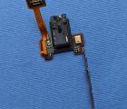 Шлейф кнопки боковые Sharp AQUOS Crystal 306SH аудио джек
