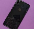 Корпус рамка боковая Apple iPhone XS Max А-сток чёрный