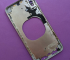 Рамка корпуса Apple iPhone XS Max каркас серебро А-сток