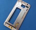 Рамка корпус Samsung Galaxy S7 Edge g935f розовый (А-сток)