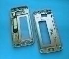 Рамка корпуса Samsung Galaxy S7 Edge g935f серая (А-сток)