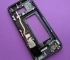 Рамка корпуса Samsung Galaxy S8 чёрная