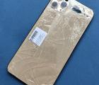 Рамка корпуса Apple iPhone 11 Pro Max золотая (B-сток) стекла камеры целые