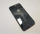 Рамка корпуса корпус Apple iPhone X С-сток чёрная