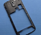 Рамка корпуса HTC Desire 526 А-сток чёрная боковая