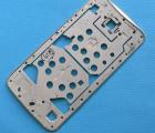 Рамка корпуса боковая Google Nexus 6 серебро B-сток