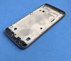 Средняя часть корпуса Motorola Moto G4 Play серая боковая рамка B-сток