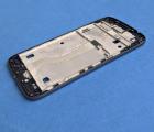 Средняя часть корпуса Motorola Moto G4 Play серая боковая рамка B-сток - фото 2