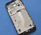 Средняя часть корпуса Motorola Moto G4 Play серая боковая рамка B-сток - фото 5