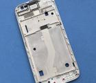 Средняя часть корпуса Motorola Moto G4 Play серебро боковая рамка А-сток - фото 2